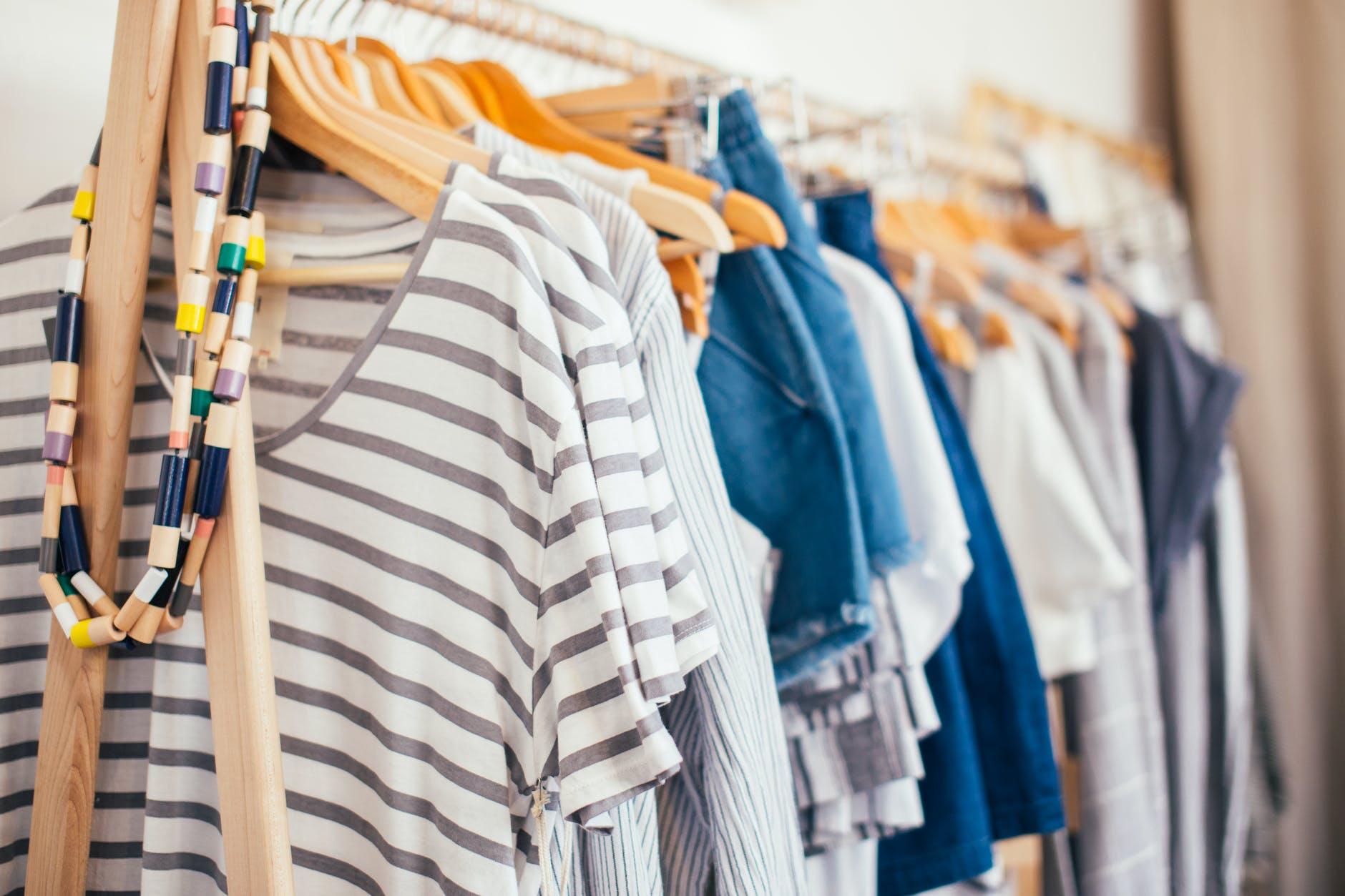 fashion shopping laundry shop